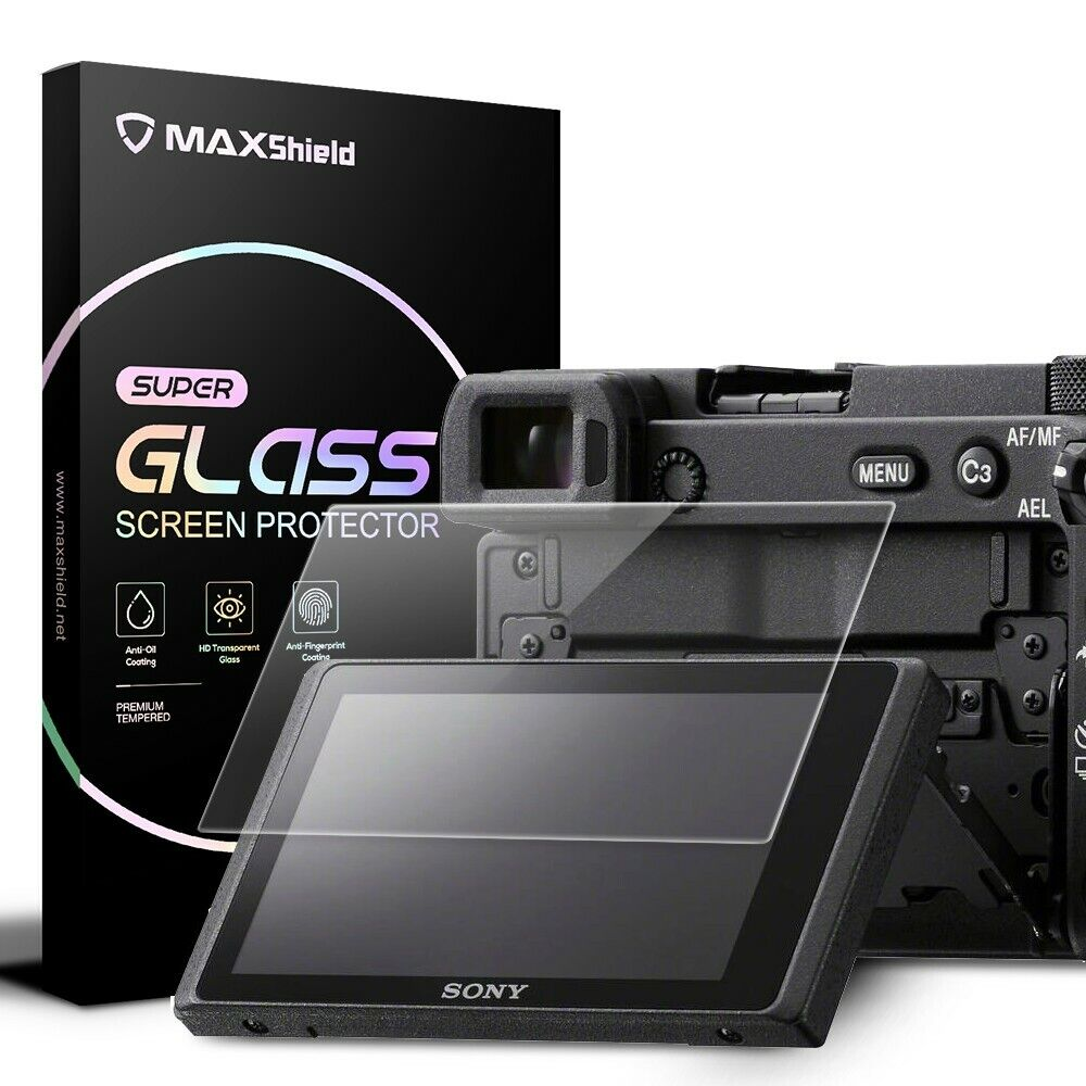 Tempered Glass LCD Screen Protector For Sony Alpha A6600 A6100 A6400 A6000 A6300