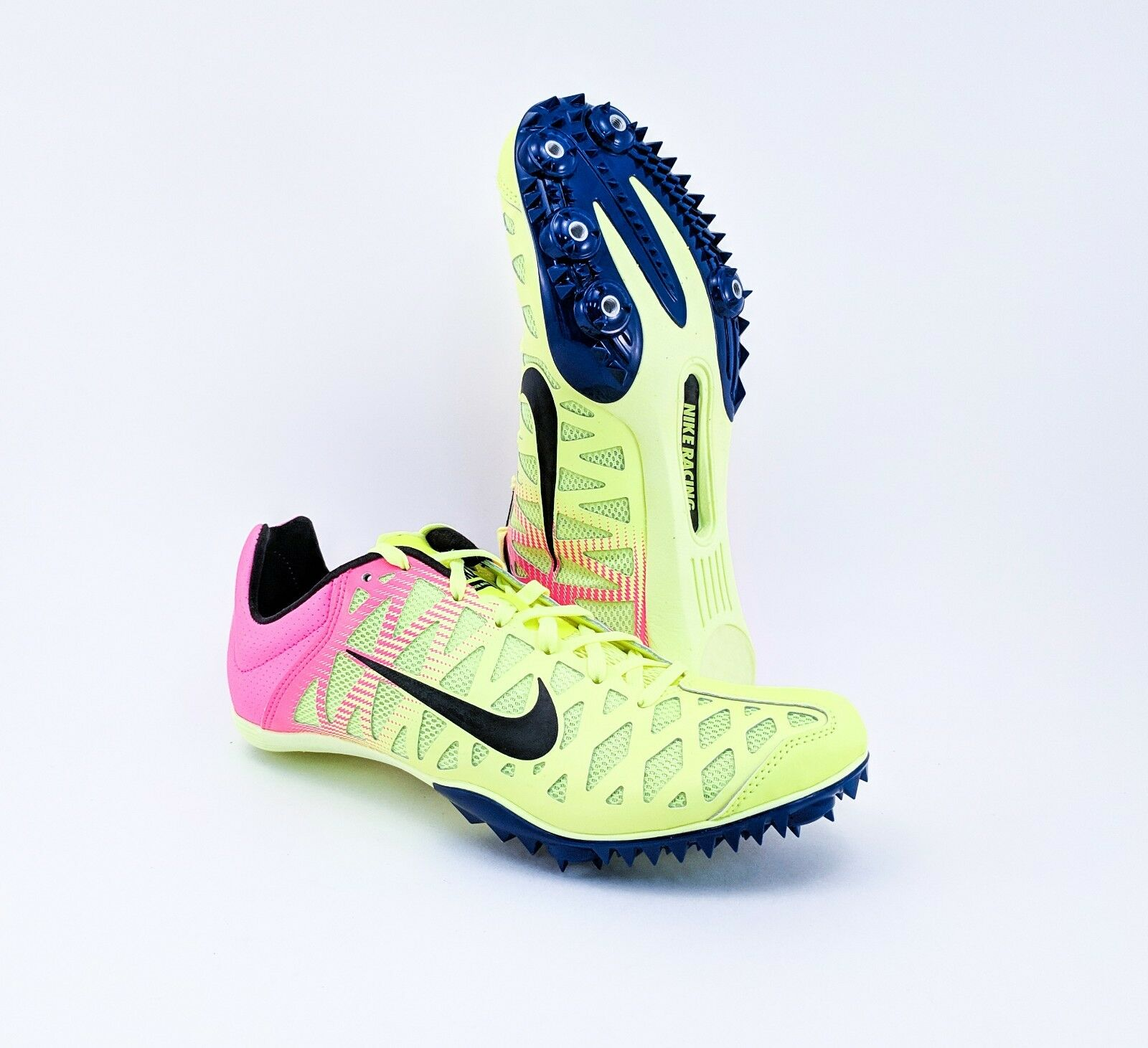 Nike Zoom Maxcat 4 Track shoes Mens Size 10.5 w Spikes 882012-999 FREE PRIORITY