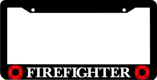 FIREFIGHTER FIREMAN  License Plate Frame