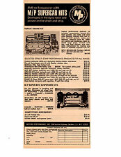 1968 SUPERCAR KITS / MOTION PERFORMANCE INC BALDWIN, NY ~ ORIGINAL PRINT AD