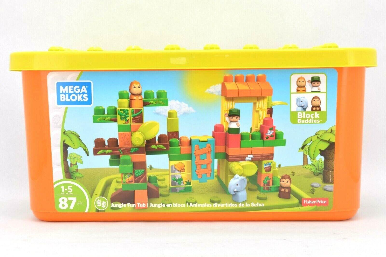 Fisher-Price Mega Bloks Jungle Fun Tub