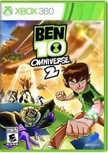 Ben 10: Omniverse 2 Xbox 360 Kids Game Rare Collectible