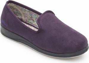 Slippers Wide Dames Padders Repose Fitting Purple wwqpE