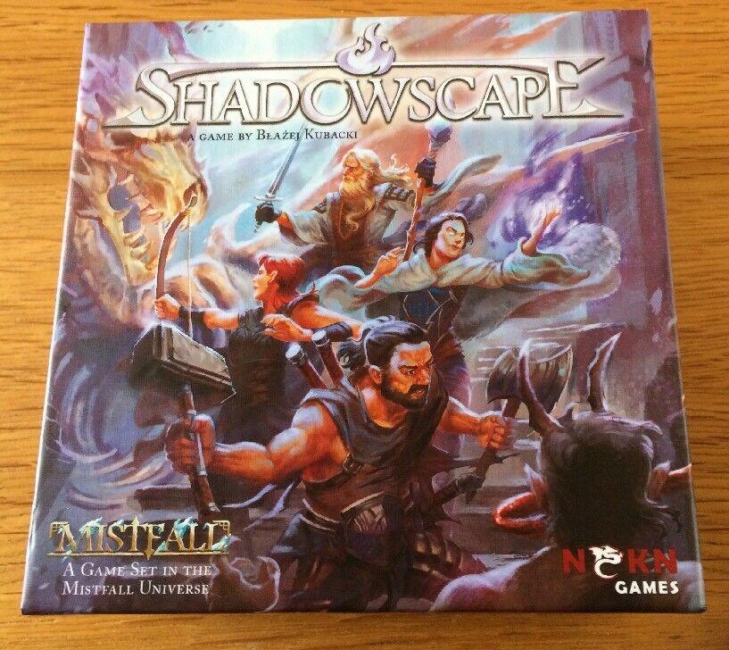 Fantasy - shadowscape kartenspiel komplett selten