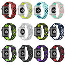 Apple Watch 42mm/38mm iWatch Soft Silicone Replacement Strap Sport Wrist Band