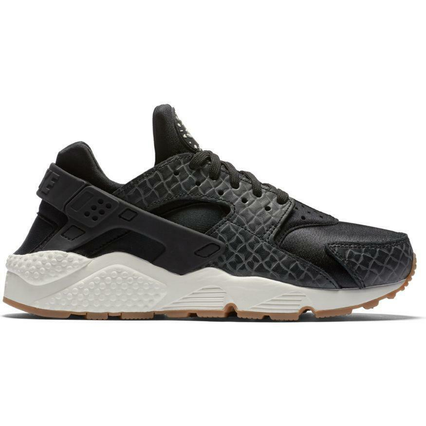 Nike Sneaker Air Huarache Premium Damen Sneaker Nike Schuhe Turnschuhe Schwarz 683818-011 8ecdf7