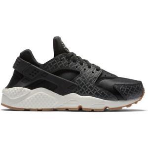 Air Zapatillas deportivas Zapatillas Premium 011 para mujer Nike Huarache negras 683818 q0PTE6