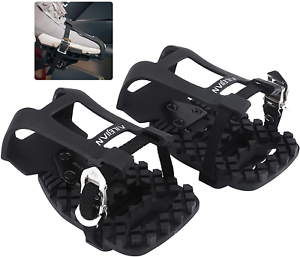 Bike Pedal Adapter Toe-Clips-Cage - Compatible with Peloton Bike and Bike