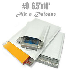 25 #0 POLY BUBBLE PADDED ENVELOPES MAILER BAG 6.5x10 SELF SEAL M by Random color