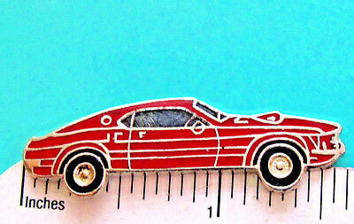 BLUE ANGELS MUSTANG MUSCLE CAR AUTOMOBILE AUTO LAPEL PIN BADGE 1 INCH