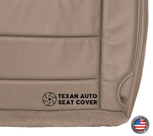 2004 Ford Excursion Limited XLT Passenger Bottom Leather Seat Cover Tan 2003