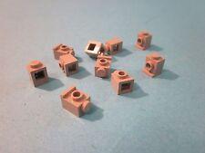 Lego. Ten 1 x 1 Angular (headlamp) Bricks. Light Grey Good. Condition. 4070