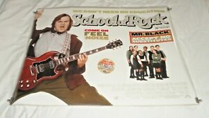 School Of Rock Original UK Quad Movie Cinema Poster 2003 Jack Black