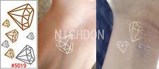 Einmal TATTOO Körper Sticker Body rt Haut Schmuck gold silber Motiv 5019