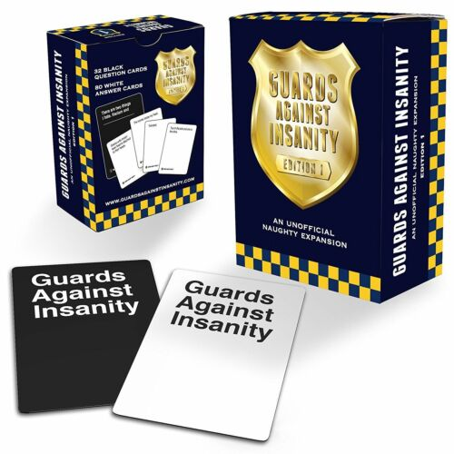 Guards Against Insanity 1st Edition Unofficial Cards Against Humanity Expansion
