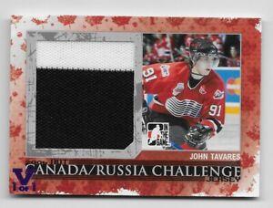 2007-08-ITG-Canada-Russian-Challenge-Jersey-John-Tavares-Silver-50