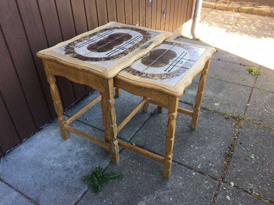 Indskudsbord, Ukendt, egetræ