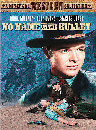 No Name On The Bullet DVD, 2004 Audie Murphy Joan Evans Charles Drake NEW - $4.99
