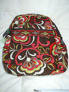 New with Tags VERA BRADLEY BACKPACK in PUCCINI  84 886003019818  0bd5afc898ac2