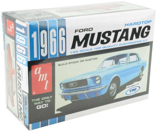 VRC Hobbies 1966 Ford Mustang Hardtop 1:25 Scale Plastic Model Car Kit 704 AMT
