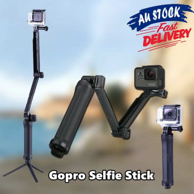 Selfie Stick Tripod Stand Monopod Pole Compatible With Go Pro HD Hero 5 4 3+ 2