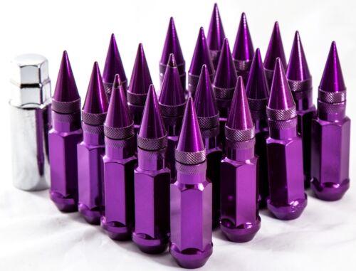 92mm AodHan XT92 12X1.5 Steel Purple Spiked Lug Nuts Fits Scion Xb Xa Tc Frs