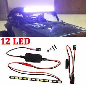 Luz-LED-techo-bar-light-barra-de-luz-para-1-10-axial-espectros-90018-90020-90045-RC