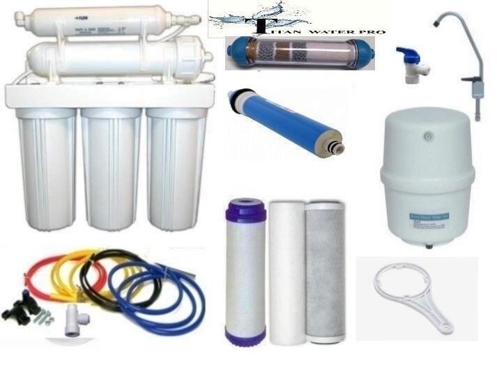 RO - Reverse Osmosis Alkaline Ionizer Neg ORP Water Filter System TFC-2012-150