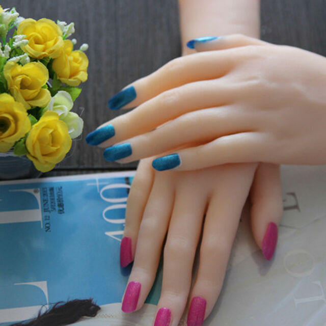 Solid Silicone Female Hands Realistic Mannequin Hands Ring Display ...