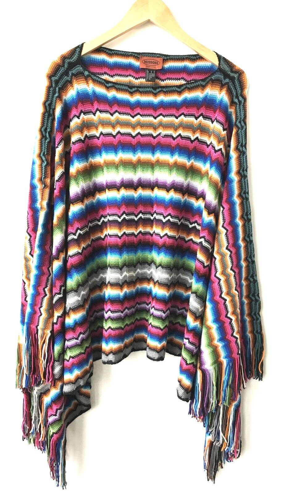 Missoni Muti color One Size Fits All Poncho