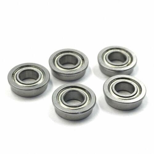 Flange Ball Bearing F626ZZ 6x19x6 mm Metric flanged Bearing Qty:10 M/_M/_S
