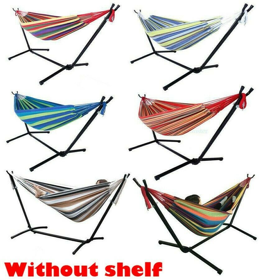 Double Hammock Bed Without Stand Camping Bed Garden Outdoor