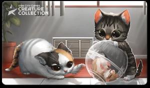 Star City Games Creature Collection Playmat Kitten *MTG*
