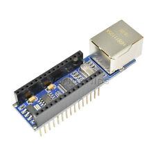 Mini ENC28J60 Webserver module Ethernet Shield board for Arduino Nano v3.0 top