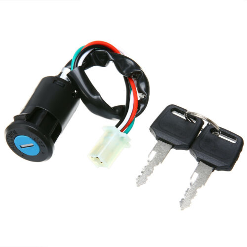 Motorcycle Ignition Switch Lock Key for Yamaha Suzuki Honda KTM Dirt Bike ATV R