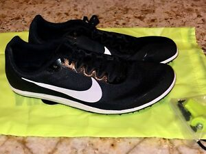 newest b00a9 d216d Image is loading NIKE-ZOOM-RIVAL-D-10-Black-White-Mid-