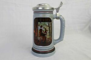 Vintage-AVON-034-The-Building-of-America-034-Beer-Stein-Collection-034-The-Blacksmith-034-1