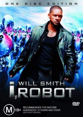 1 of 1 - I, ROBOT DVD=WILL SMITH=REGION 4 AUSTRALIAN RELEASE=NEW AND SEALED