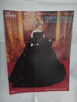 Paradise Crochet 11 1/2 Doll Pattern Princess Diana 1981 Engagement Dress P059