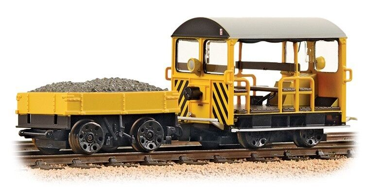 Bachmann 32-993 Wickham Type 27 Trolley Coche br Engineers amarillo Wasp Stripes oo
