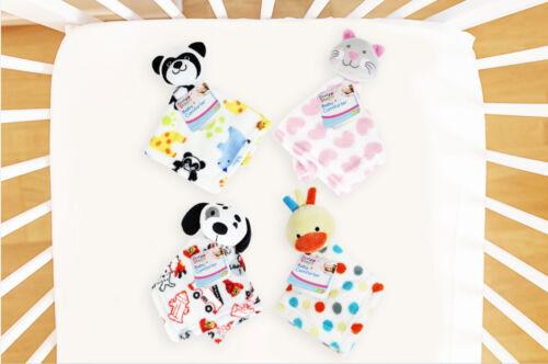 Bébé Couette Snuggle Blanket Soft Plush nouveau-né chat canard Panda chien Designs
