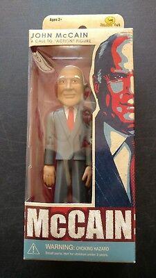 "Multiple Available 2008 John McCain /""Call to Action Figure/"" byJailbreak Toys"
