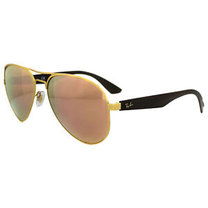 58b6ef68b8 Image is loading Ray-Ban-Sunglasses-3523-112-2Y-Gold-Copper-