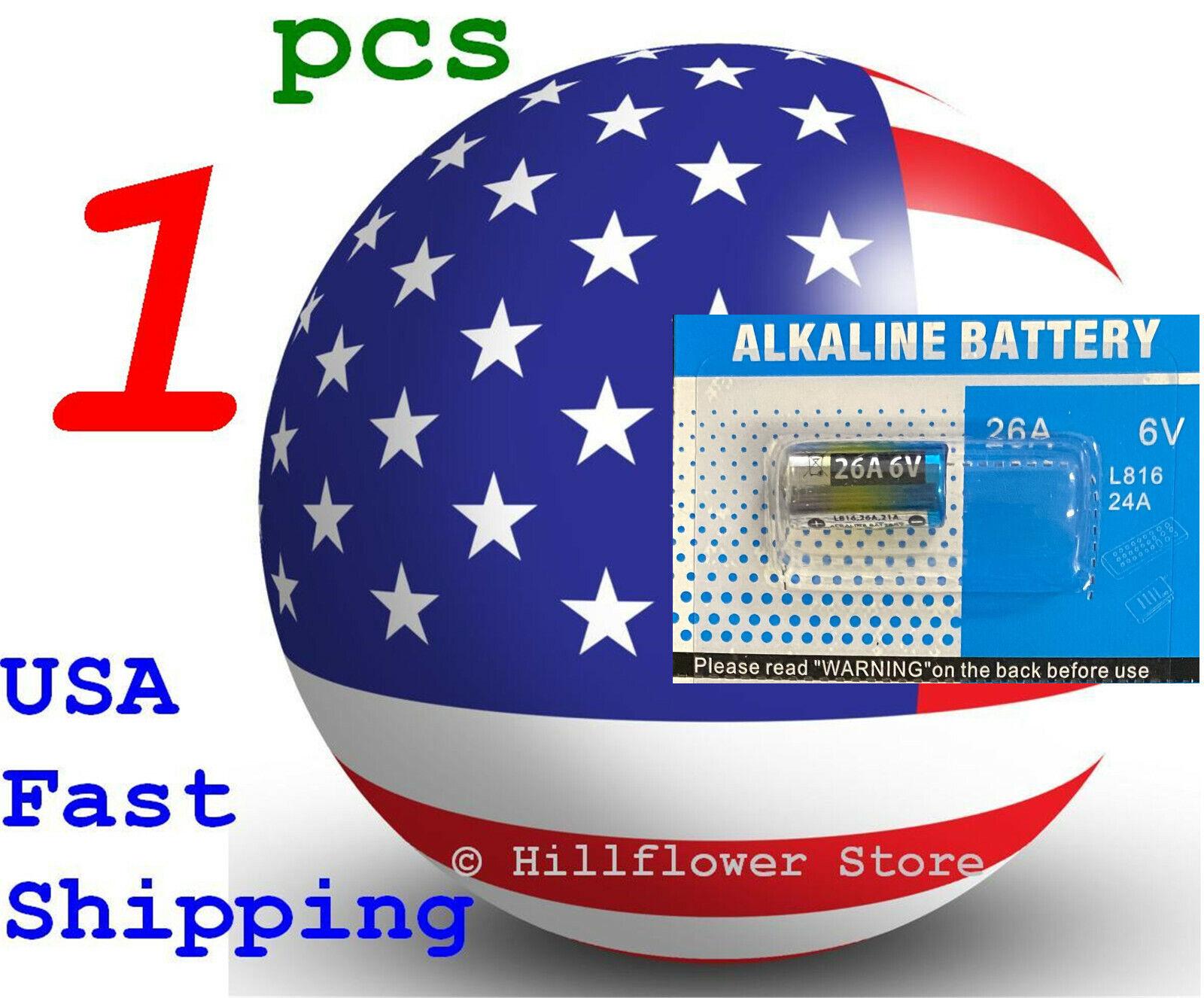 1 pcs 26A A26 L816 Card 6V Super High Power Alkaline Battery
