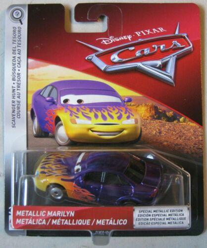 VOITURE DISNEY PIXAR CARS Marilyn metallic version scavenger hunt