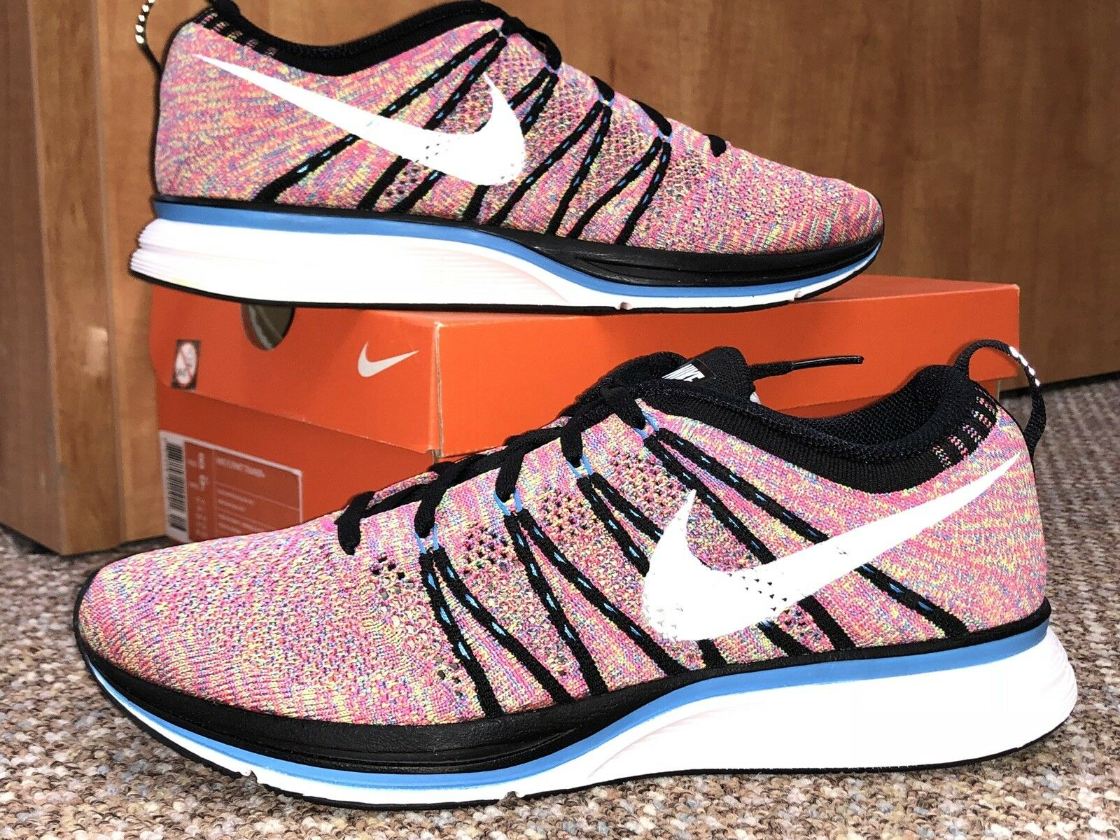 Nike Multicolor Flyknit Trainer US Size 8 Mens; Condition) 9 Womens (Rare New Condition) Mens; 269f22