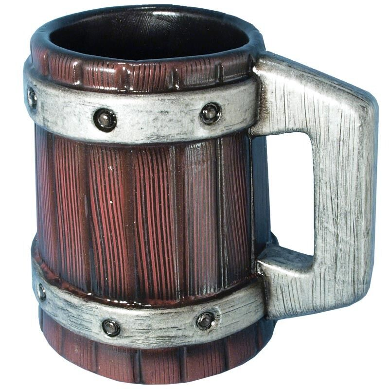 LARP Large Beer Mug. Made With Safe Latex And Foam. Perfect For The Local Tavern