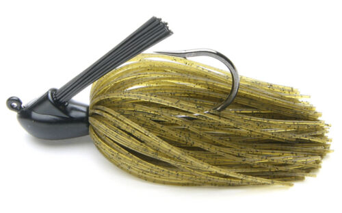Trout Fishing Lure Bass Walleye Keitech Tungsten Model I Casting Jig 1//2 Oz