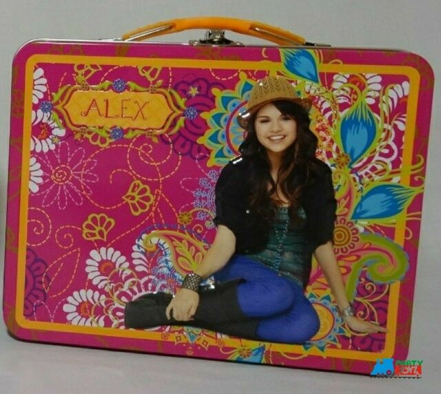 Blue Wizards of Waverly Place Square Carry All Tin Lunchbox Lunch Box