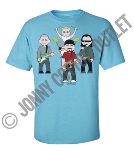 VIPwees Mens T-Shirt Alternative Music Inspired Caricatures Choose Your Design